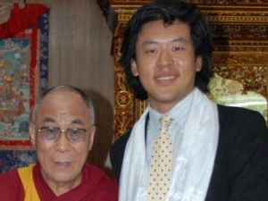 Jerry Guo and the Dalai Lama