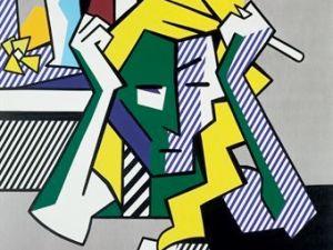 Roy Lichtenstein, Deep in Thought, 1980