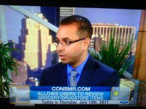 Mr. Charles, on TV.
