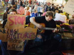 """""""Don't tread on me,"""" Occupy Wall Street has no plans of vacating for city clean-up"""