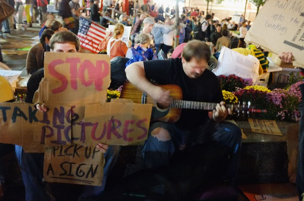 Update: Occupy Wall Street Responds to Bloomberg's Cleaning 'Eviction Notice'