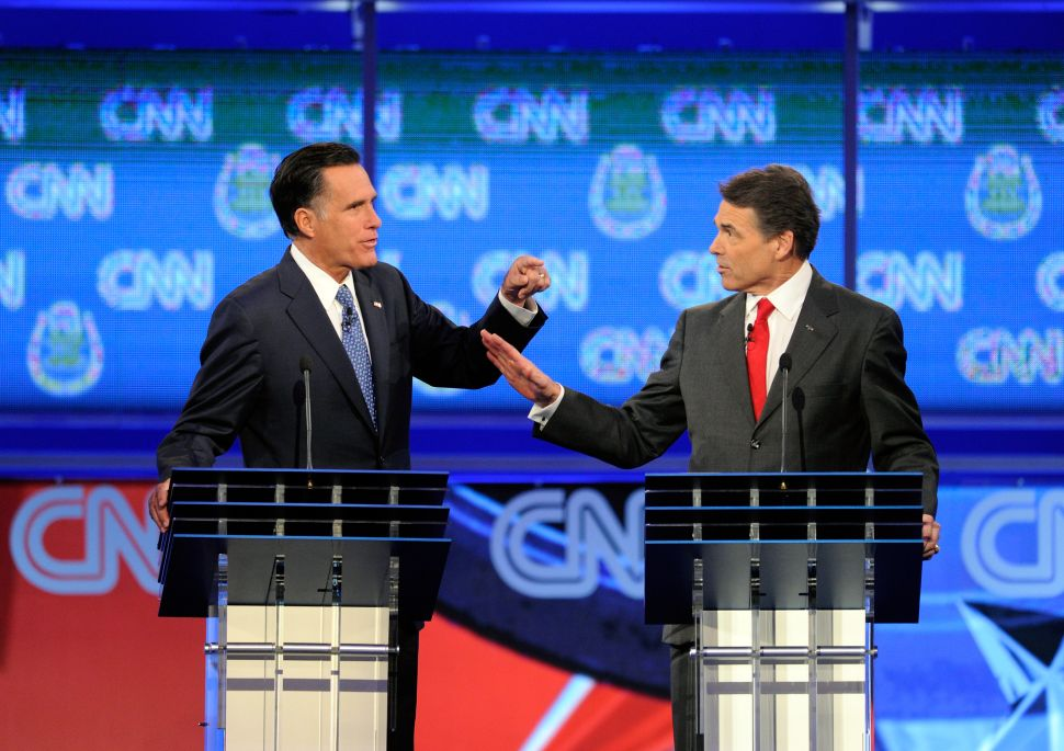 Rick Perry Challenges Andrew Cuomo to Debate on Jobs
