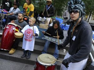 Drumming will be limited to two hours per day on Occupy Wall Street.