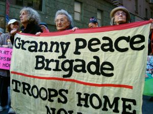The Granny Peace Brigade at Lincoln Center