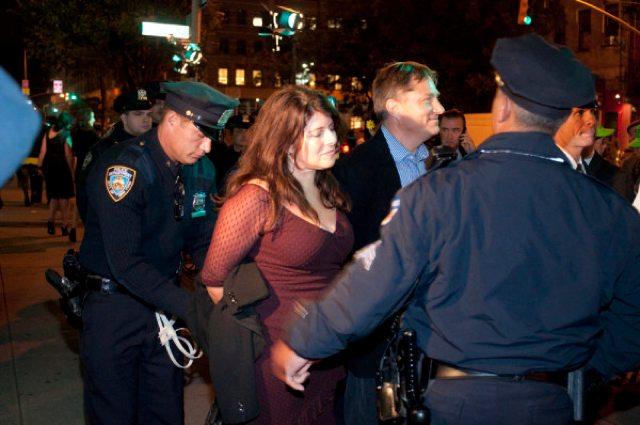 Naomi Wolf Arrested in Confrontation Between Police and HuffPo Protesters [Video]