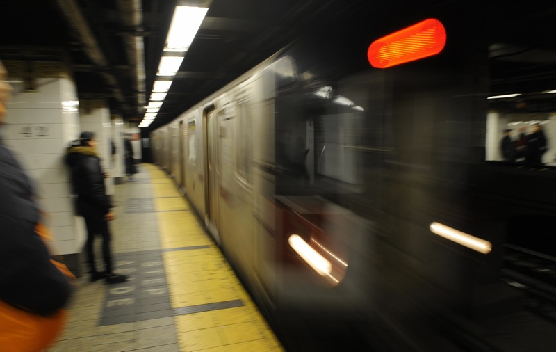 Witnesses Say Man Was Pushed in Front of Midtown Subway Train