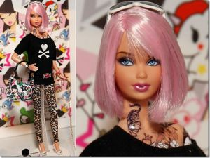"""Tokidoki Barbie, your daughters new """"bad influence"""" best friend"""