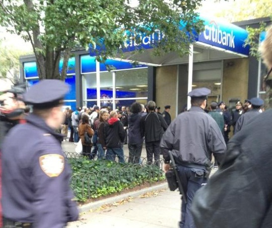 Update: Citibank Protester Talks About Undercover Infiltration In Occupy Wall Street