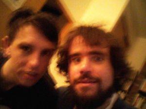 Stephen Boyer and Filip Marinovich (Photo: Marinovich)