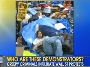 "Fox News on Occupy Protests: ""Creepy Criminals"""