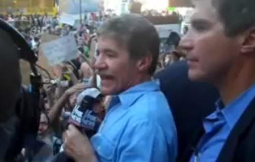 Geraldo Rivera Booed Out of Occupy Wall Street? [Video]