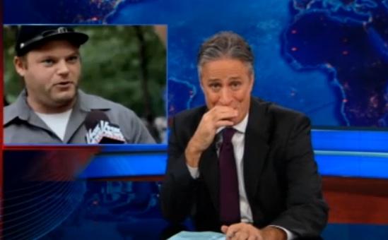 Jon Stewart Gives Props to Jesse LaGreca For His Fox News Slap-Down [Video]