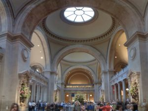 The entrance hall of the Met. (Photo: Michael Gray / Flickr)