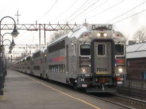 NJ Transit train.