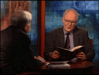 Bill Moyers and John Lithgow Get Raunchy at the New York Public Library
