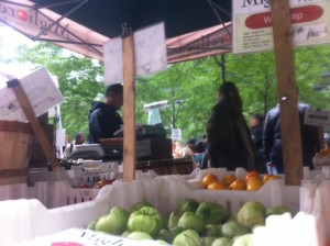 Occupy Wall Street Forces Farmers' Market Out of Zuccotti Park
