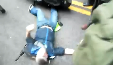 Bloody Battle on Wall Street: Police Punch, Run Over Protesters [Videos]