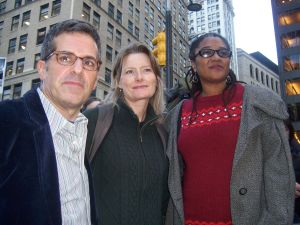 Jonathan Lethem, Jennifer Egan and Lynn Nottage