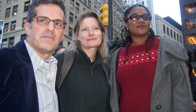 Jonathan Lethem, Jennifer Egan and Lynn Nottage