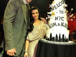 Kim and Kris' marriage: Did it last longer than this cake?