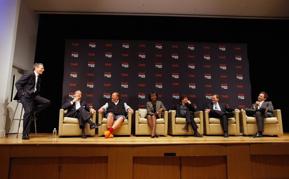 'Time's Person of the Year Panelists Debate: Steve Jobs, Arab Spring, or Other?