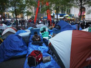 The battles formerly fought in Zuccotti Park are now being fought on Twitter.