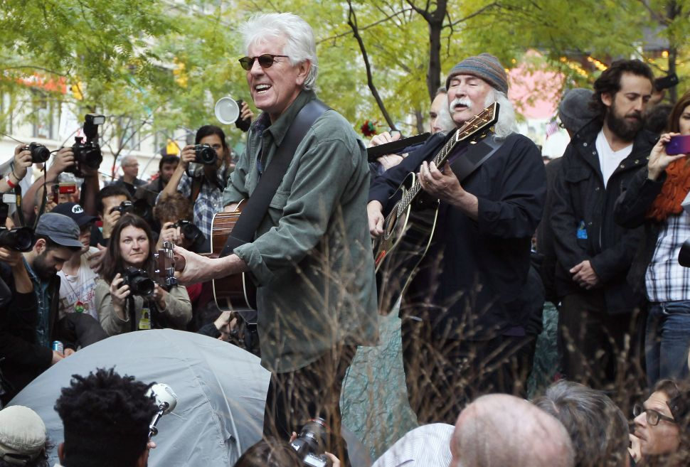 Crosby and Nash's Occupy Wall Street Concert [Video]