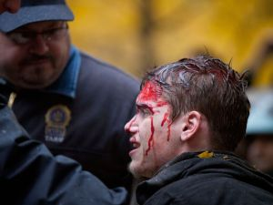 OWS' Dirk Diggler? (Photo via Getty)