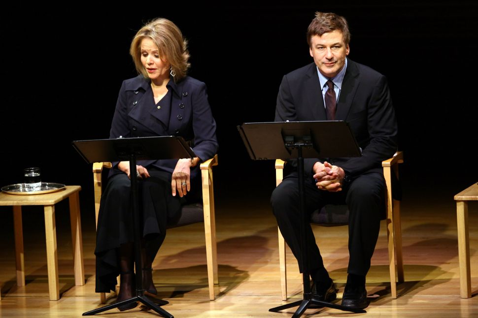 'Love Letters' At Carnegie Hall: Alec Baldwin Reads (Not From a Phone Book) and Shirtless Vikings Give Us Vodka!