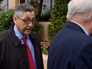 Sheldon Silver after his bike accident. (Photo: Stephen Crowley/New York Times)