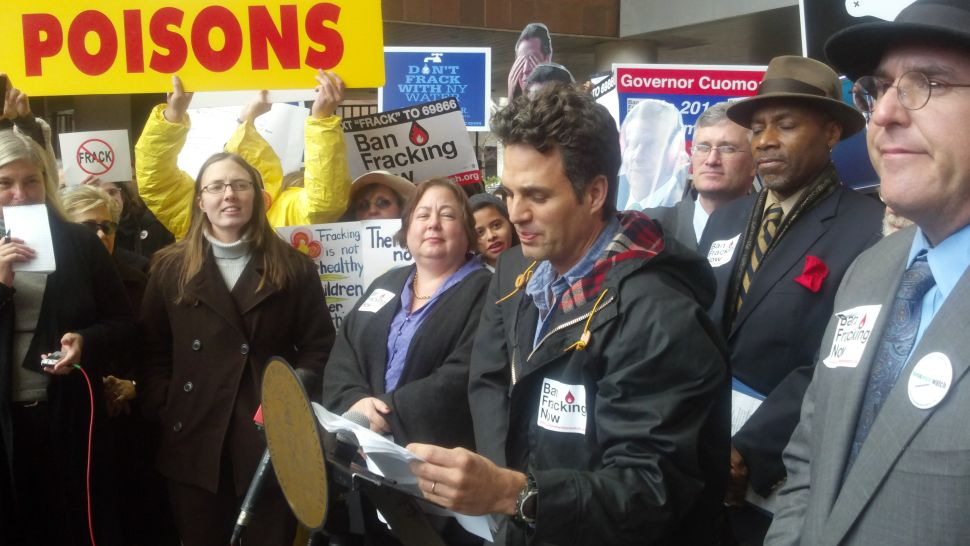 Mark Ruffalo And New York Pols Promote Fight Against Hydrofracking