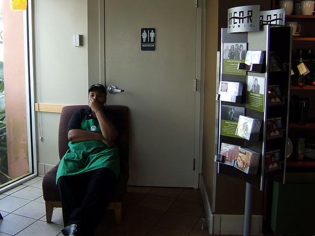City Starbucks Close Its (Bathroom) Doors