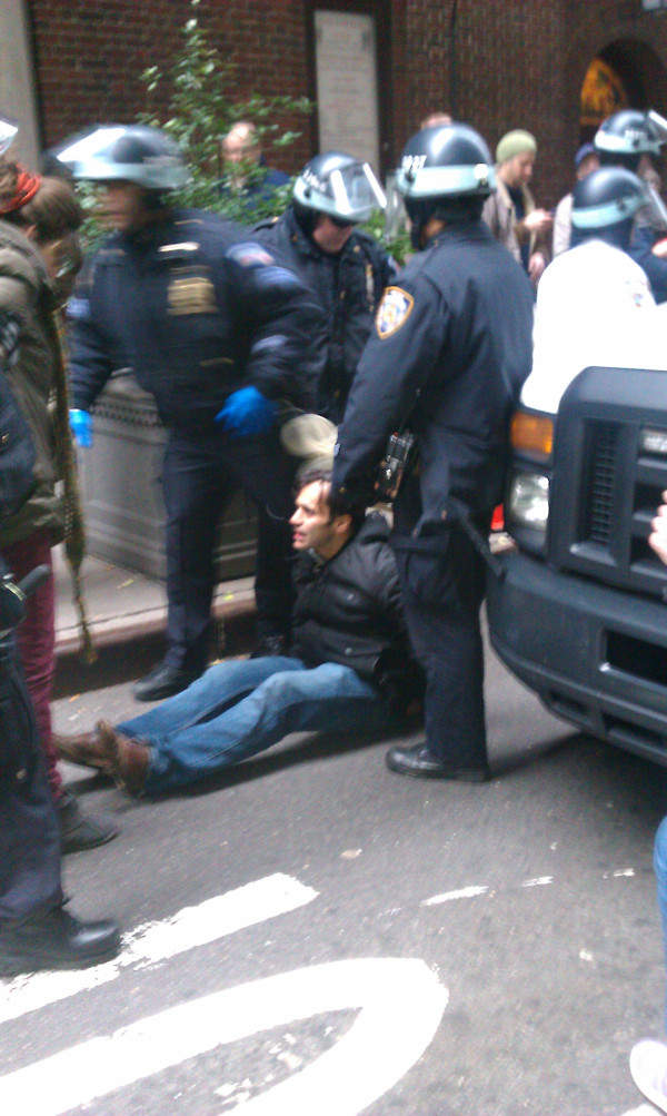 Update: Do You Hear the People Sing? : N+1 Founder Keith Gessen Arrested on Occupy Wall Street While the Barricades Come Down (Video)