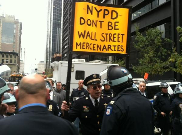 Former Police Captain and Current OWS Protester Ray Lewis Arrested