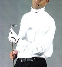 Canh Oxelson as Tiger Woods (Photo from Sports Illustrated)