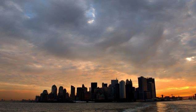 A new day dawns downtown. (Getty)