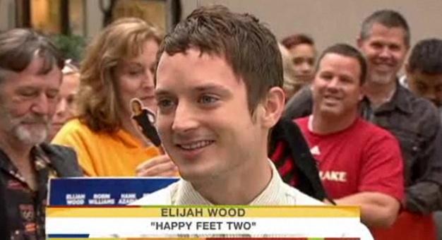 Elijah Wood Rides Subway Like Plebeian, 'Today' Hosts Shocked [Video]