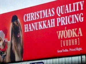 Wodka Vodka: the anti-Semitic spirit of choice!