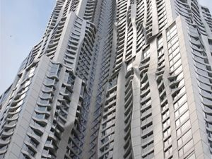 New York by Frank Gehry at 8 Spruce Street (Photo from NYC Loves NYC)