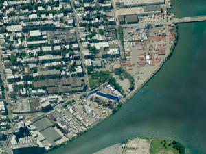 The Greenpoint Lumber Exchange. (Bing Maps)