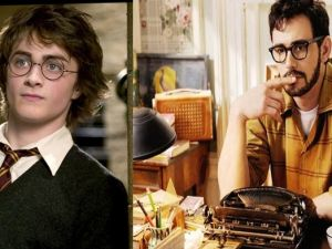 Daniel Radcliffe vs James Franco in a Ginsberg-off? Its possible. (Via Harry Potter and Howl)