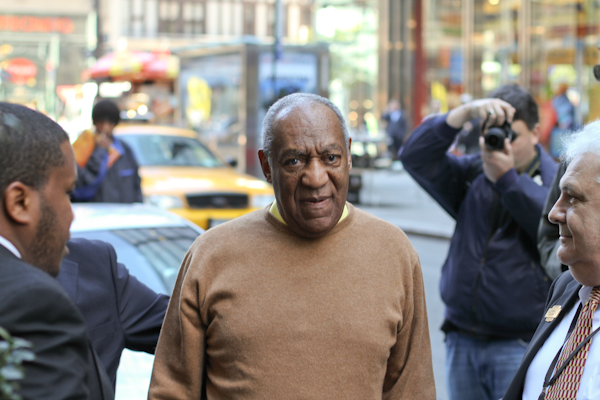 Topless Paparazzo Flashes Bill Cosby