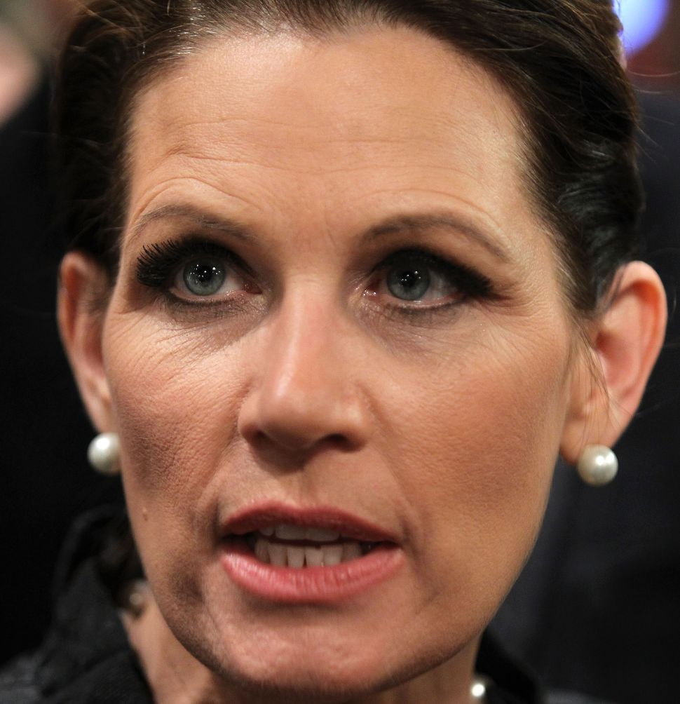 Michele Bachmann Blasts Obama For Not 'Standing By' Israel And Mubarak