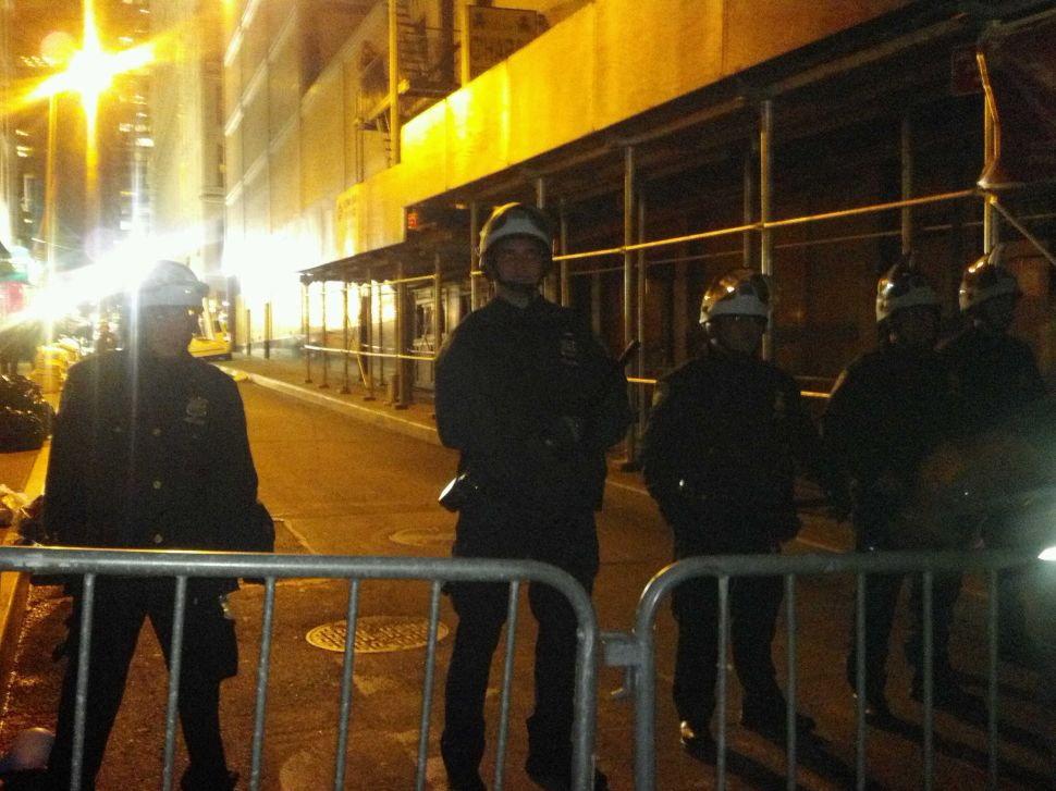 NYPD Says There Were Actually Two Reporters Arrested During Occupy Wall Street Raid