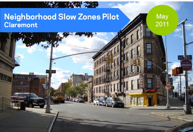 Department of Transportation Introduces First 20 Miles-Per-Hour 'Slow Zone' In The Bronx…Is Manhattan Next?