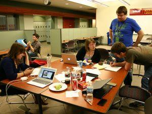 Startup Weekend Edmonton. (flickr.com/mastermaq)