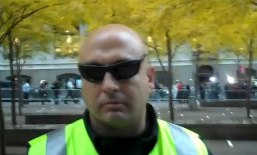Zuccotti Security and Fox News Spit Slurs at Joey Boots [Video]