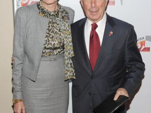 Diana Taylor and Mayor Bloomberg (Photo via Getty)