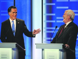 Romney and Gingrich.