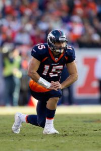 Tim Tebow takes a knee: give $10 for your favorite pro-choice cause (Getty)